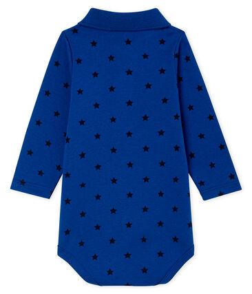 Baby Boys' Long-Sleeved Polo Shirt with Collar