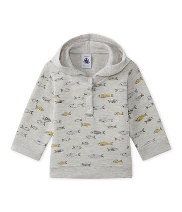 Baby boy's hooded sweatshirt