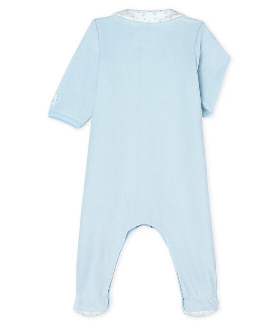 Baby Boys' Velour Sleepsuit FRAICHEUR