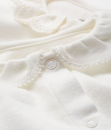 Baby girls' short-sleeved bodysuit - 2-piece set