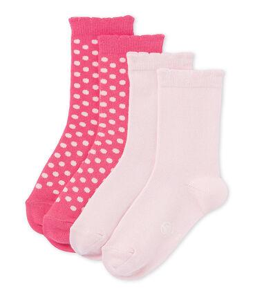 Set of girls' socks