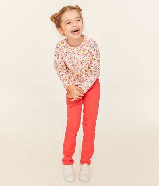 Girls' Trousers Groseiller pink