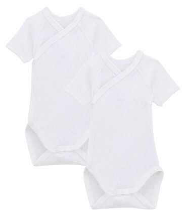Newborn Babies' Short-Sleeved Bodysuit - 2-Piece Set . set