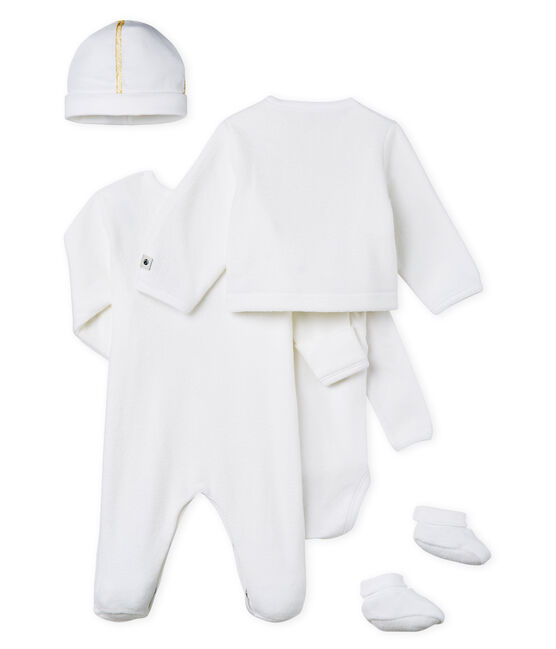 Newborn Gift Set in Brushed Towelling . set
