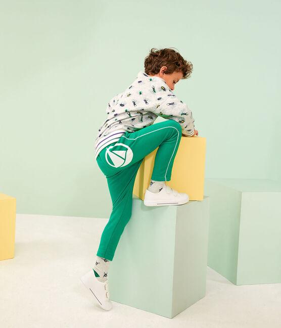 Boys' Knit Trousers Prado green