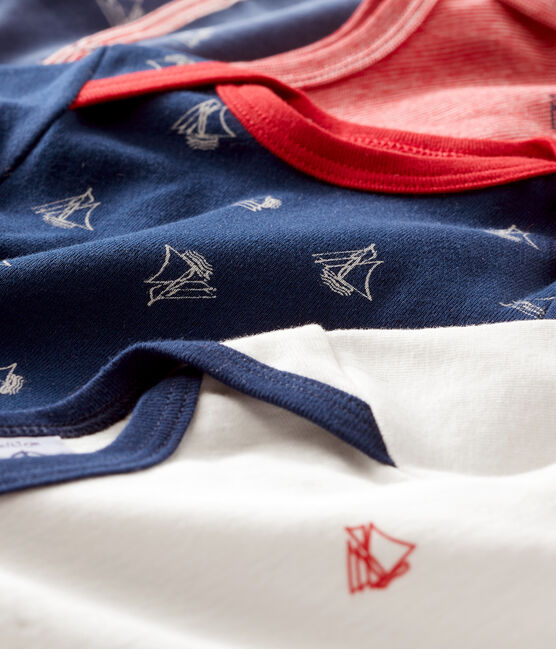 Baby Boys' Sleepsuit Set - Velour Sleepsuit and Long-Sleeved Ribbed Bodysuits . set