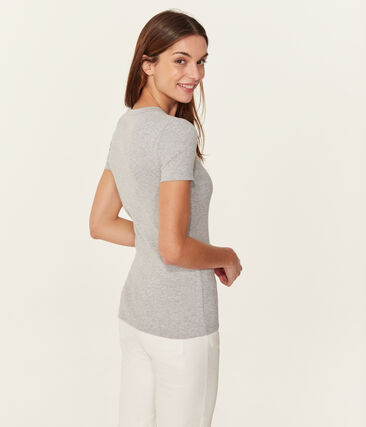 Women's Iconic T-Shirt Beluga grey