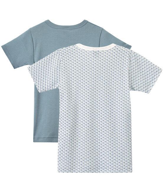 Set of 2 boys' short-sleeved t-shirts . set