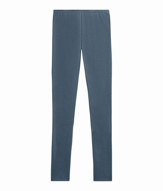 women's long leggings Turquin blue