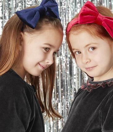 Girls' Hairband Smoking blue