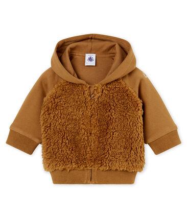Baby boy's hooded sherpa sweatshirt