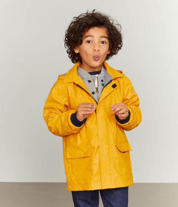 Unisex Children's Raincoat Boudor yellow