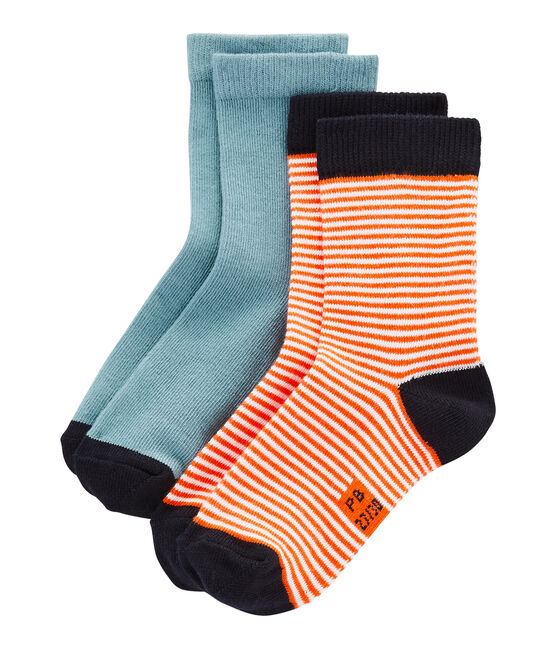 Pack of 2 Pairs of Unisex Socks . set