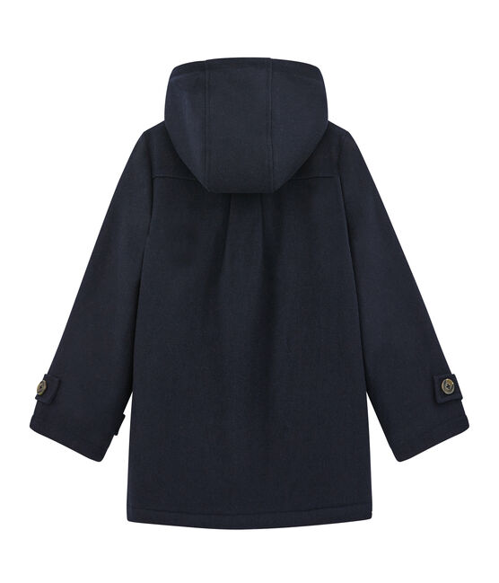 Girl's duffle coat Smoking blue