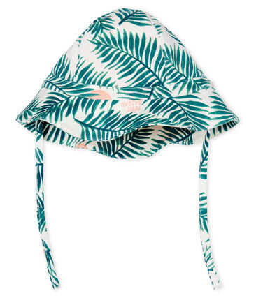 Baby girls' printed hat