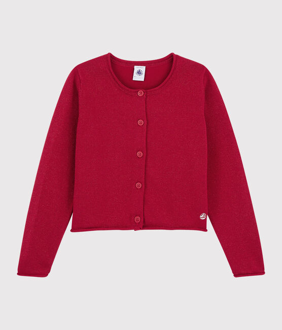 Girls' Cotton Cardigan TERKUIT BRILLANT