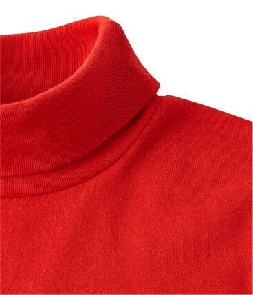 Mixed child's plain polo neck T-shirt