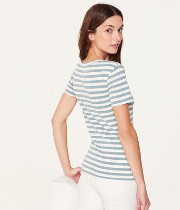 Women's short-sleeved crew neck iconic t-shirt