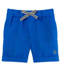 Baby boys' linen shorts