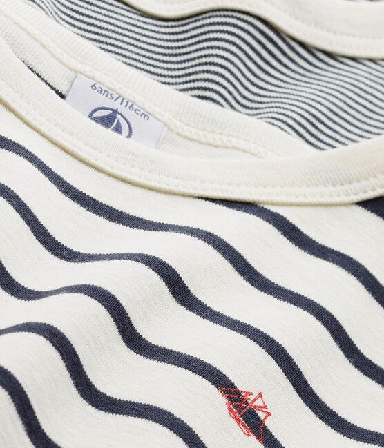 Boys' Striped T-Shirt - 2-Piece Set . set