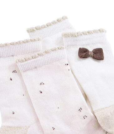 Girls' Socks - 2-Piece Set