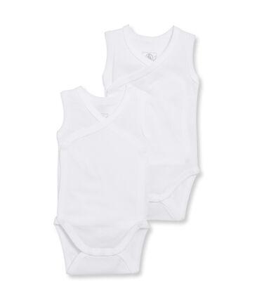Newborn Babies' Sleeveless Bodysuit - 2-Piece Set . set