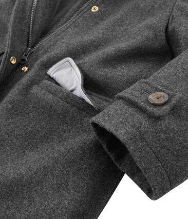 Girls' coat Subway grey