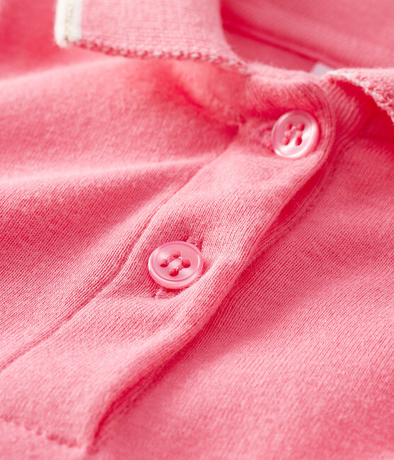 Baby Girls' Polo Shirt Dress Cupcake pink