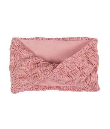 Girls' Snood Charme pink / Or yellow