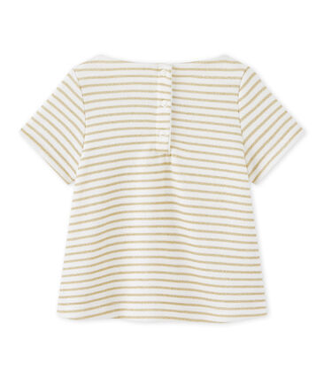 Baby girl's striped T-shirt