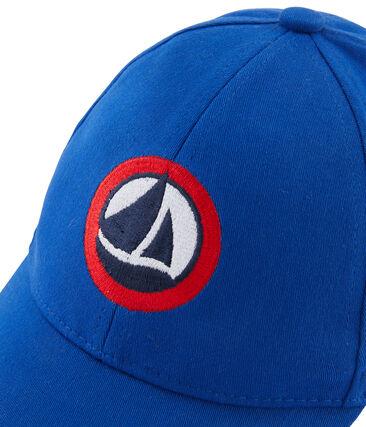 Twill cap for boys Surf blue