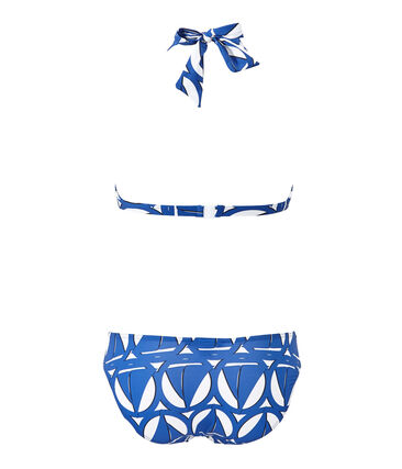 Women's printed two-piece swimsuit