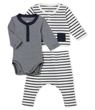 Baby boys' striped clothing - 3-piece set