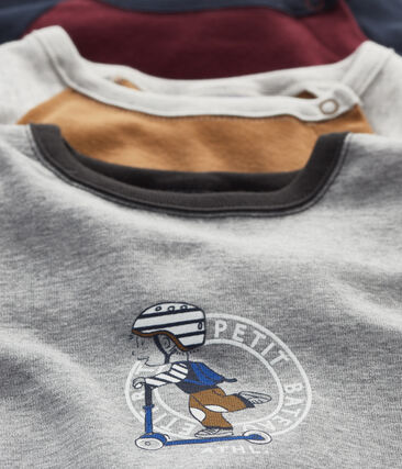 Baby Boys' Long-sleeved T-Shirt - 3-Piece Surprise Set . set