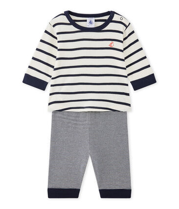 Baby boy's footless pyjamas