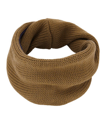 Child's lined knit snood