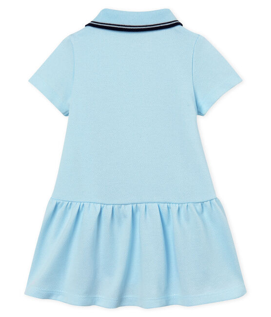 Baby girls' bodysuit/dress Bocal blue