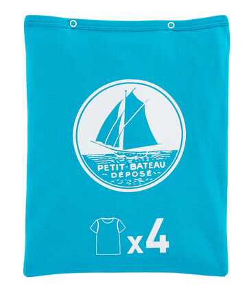 Surprise pack of 4 short-sleeved T-shirts for boys