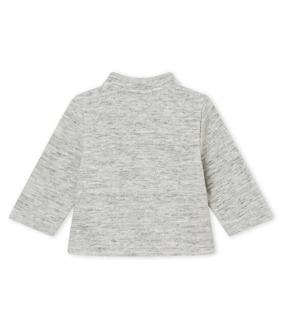 Baby girls' cardigan Gris grey