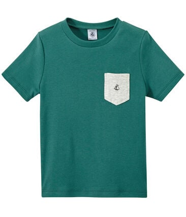 Boy's T-shirt with breast pocket
