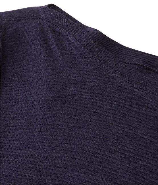 Women's linen dress Smoking blue