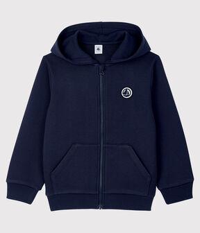 Boys' Hooded Sweatshirt Smoking blue
