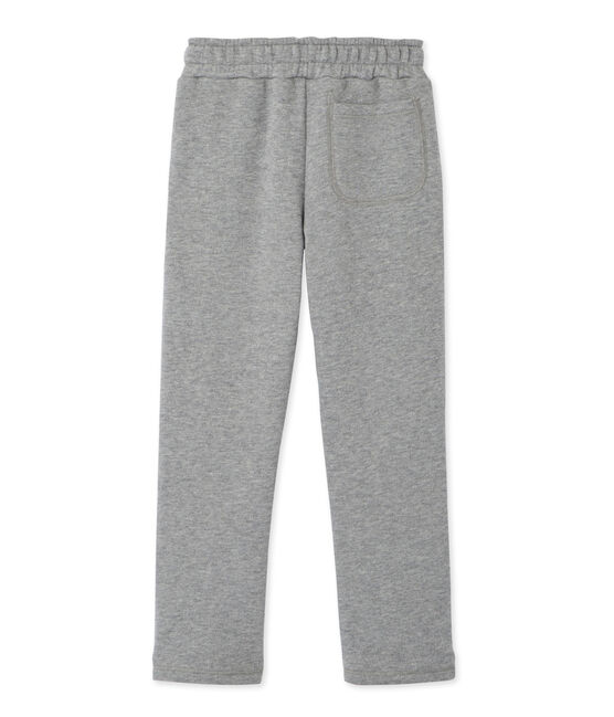 Boy's fleece pants Subway Chine grey