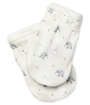 Babies' Rib Knit Mittens
