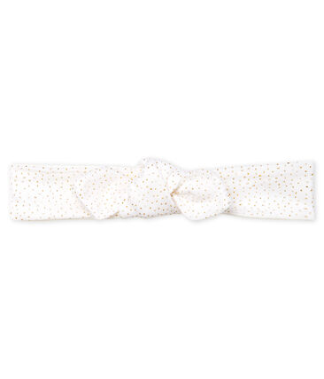 Girls' Hairband Marshmallow white / Copper pink