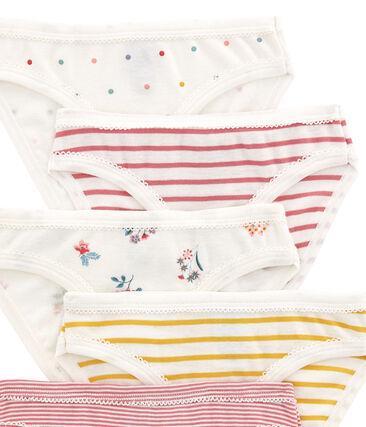 Set of 5 girl's pants