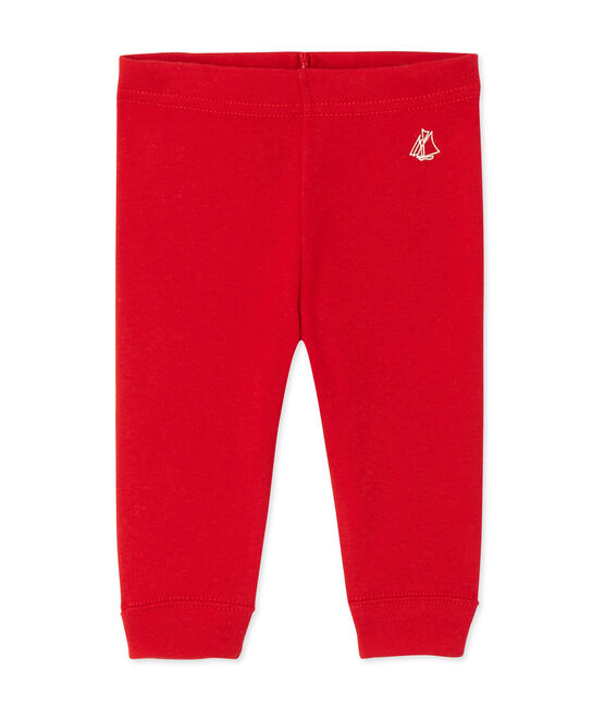 Baby girls' leggings Froufrou red