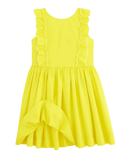 Girls' Dress Eblouis yellow