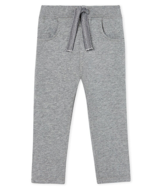 Baby Boys' Warm Fleece Trousers Subway grey