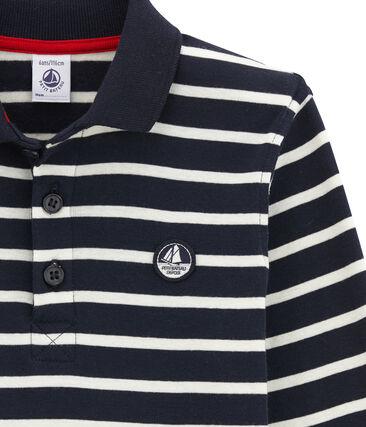 Boy's long sleeved polo shirt